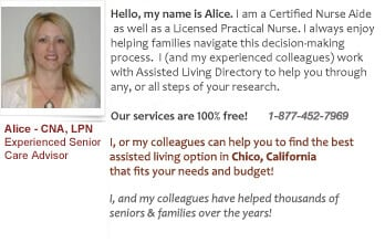 Help for Chico's seniors