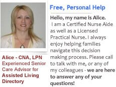 Advisor/LPN for Assisted Living Directory