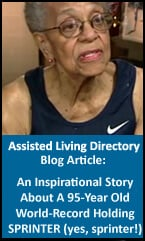 Inspiring story about a 95 year old senior