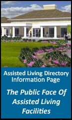 Information page -  public face of assisted living facilities