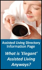 Elegant assisted living information