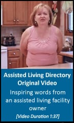Inspiring words from an assisted living facility owner [blog video]