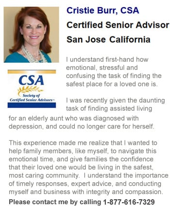 Senior Care Advisor Cristie for San Jose
