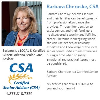 Senior Care Consultants for Gilbert, AZ