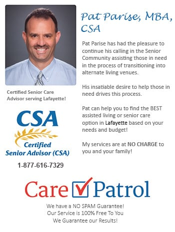Lafayette Colorado Senior Care and Assisted Living Consultant