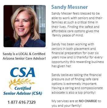 Mesa Senior Care Consulting, Paula and Sandy