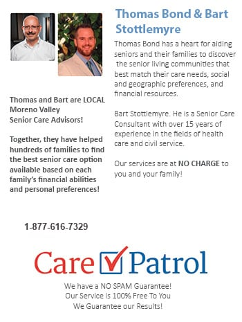 Senior Care Help for Moreno Valley