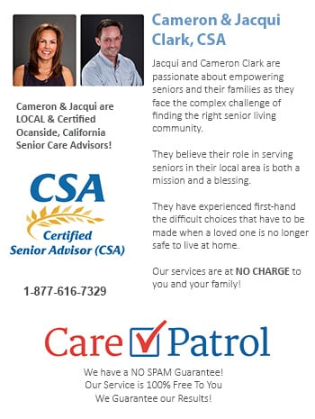 Senior Care Help for Oceanside