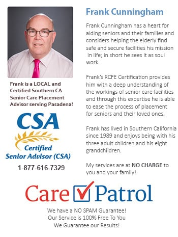 Senior Care Help for Pasadena