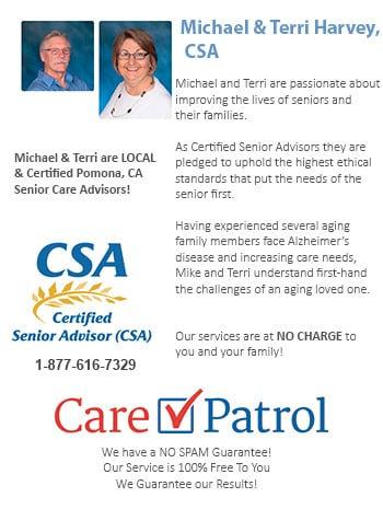 Senior Care Help for Pomona