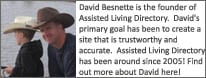 David Besnette, contributor for Assisted Living Directory