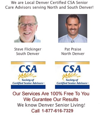 Denver CSA Senior Care Experts