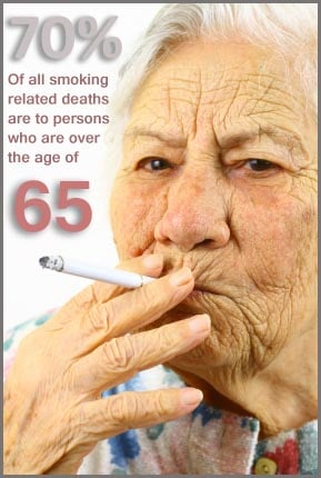 Did you know that seniors are the most susceptible to the effects of second-hand smoke?