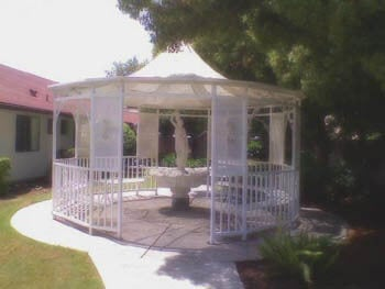gazebo area of A Family Way of Life