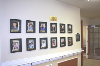 Our Veterans Wall