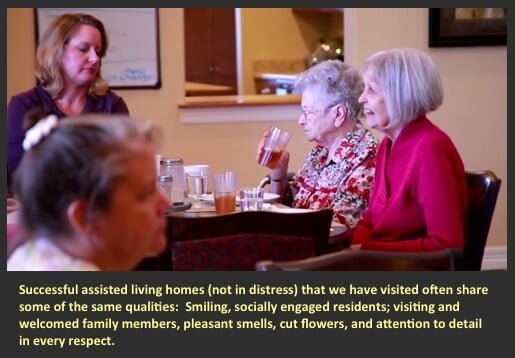 an example of a non-distressed assisted living home