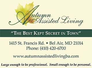 Autumn assisted living facility in Bel Air