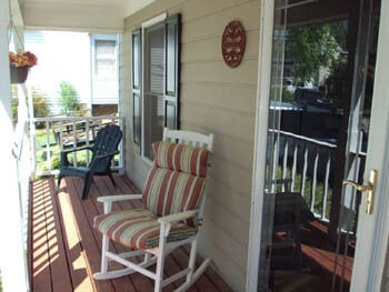porch area