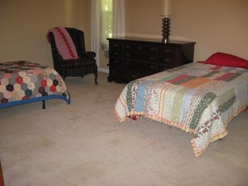 This photo is an example of a senior's bedroom area at Bella's Cottage in Cumming, Georgia