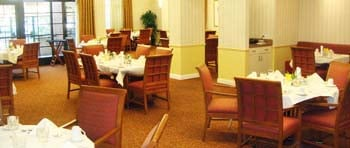 Dining room assisted living
