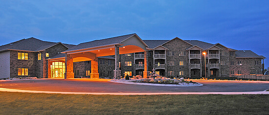 sunrise photo of Brookview Meadows assisted living