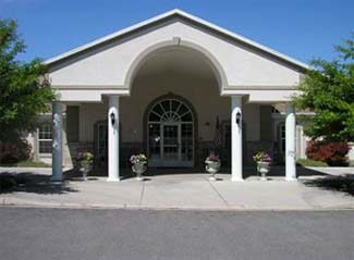 Cache Valley Assisted Living Community is stately, comfortable, and safe