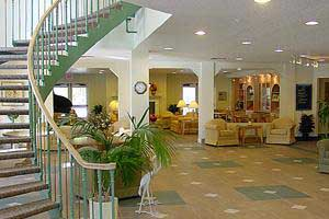 Main area of assisted living