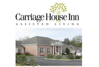 Carriage House is an assisted living facility in Shelbyville, Tennessee