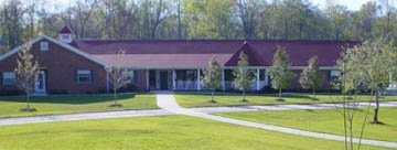 Chelsea's Hidden Acres is a gorgeous assisted living facility that is surrounded by lovely yards and forested areas in Chelsea, Alabama