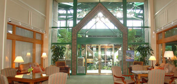 common area for seniors at Brookdale's facility in Minneapolis