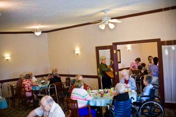 activities and entertainment at The Continental at St. Joseph's assisted living