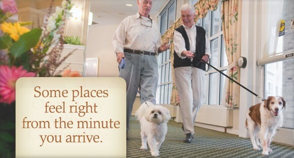Cottage Grove Place seniors walking