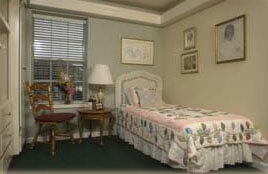 Country Commons - senior bedroom