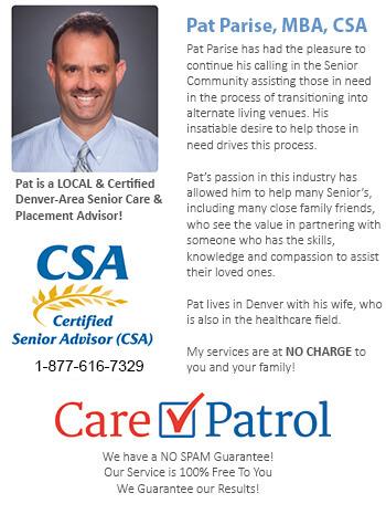 Assisted Living Facilities in Aurora Colorado CO Senior