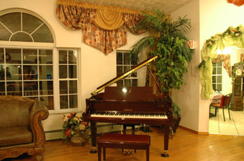 piano and music area
