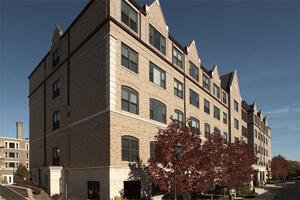 Eastcastle Place  Assisted Living Facility in Milwaukee is a multi-level building offering assisted living care