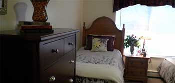 Elk Rapids assisted living bedroom