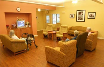 living room for seniors