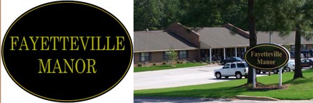 Fayetteville Manor is a lovely facility surrounded by trees and natural beauty