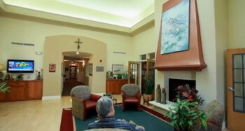 Fellowship Square Lobby