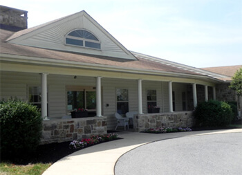 Hearthstone Manor assisted living in Mount Joy, PA has 64 units for seniors