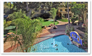 Hollenbeck Palms swimming pool for seniors