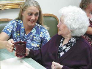 Home Away From Home assisted living in Phoenix, Arizona offers upscale care for seniors.