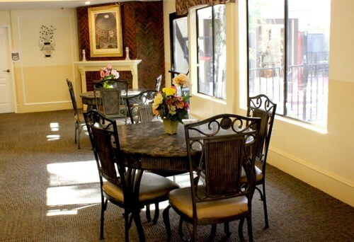 Jasmin Terrace dining area for seniors