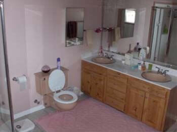 bathroom of senior room