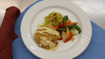 meals for seniors at the Regency