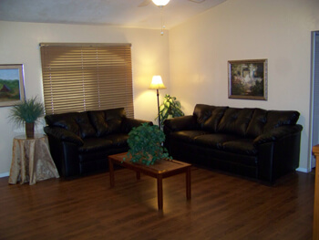 living area for seniors