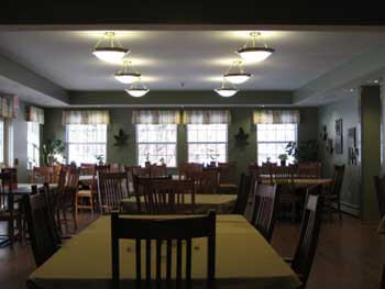 Assisted Living New York Dining Room