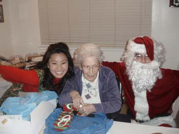 holiday fun with a resident