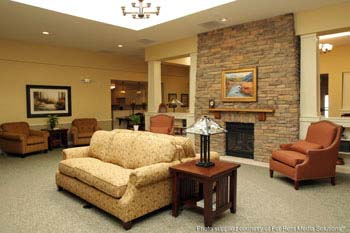 assisted living interior for seniors